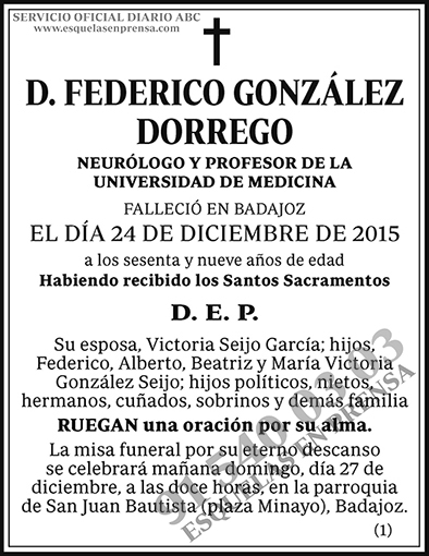 Federico González Dorrego